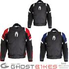 Richa Riot Motorcycle Jacket Waterproof CE Armour Textile Removable Air Vented