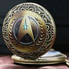 Handmade Star Trek Captain Kirk Quartz Pocket Watches Girl Woman  Men GIFT on eBay