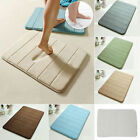 Hot Memory Foam Rug Bathroom Anti-skid Carpet Toilet Absorbing Dirt Mat 40*60cm