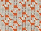 Timeless Treasures Foxes Poplin Quilting Fabric (C3043-Stone-M)