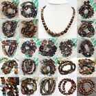 Fashion Picasso Jasper Gemstone Loose Beads Fit Jewellery Necklace Bracelet DIY