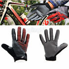 Red New Mountain Climbing Driving Cycling Bike Bicycle Sports Full Finger Glove