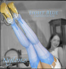 Eleganti Fully Fashioned Stockings LIGHT BLUE *Limited Edition Colour*