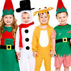 Toddler Christmas Fancy Dress Xmas Festive Girls Boys Infants Childrens Costumes