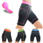 Fashion Women Clothing Bike Bicycle 3D Silicone Padded Cycling Shorts Pants S-XL