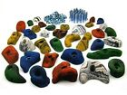 35 Climbing Holds in a Starter Set for Kids, Screws + 100 T-Nuts Stainless Steel