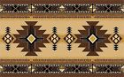 RUSTIC SOUTHWEST DESIGN 3 BROWN COLORS PLACEMATS PLACE MATS SETS U PICK SET SIZE