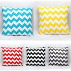 Fashion Waved Stripes Cotton Cushion Throw Pillow Case Covers Home Decor New