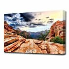 LARGE CANYON TOP CANVAS PRINT 2153