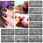 Stamping Large DIY Lace Image Template Manicure Nail Art Image Stamp Plates AS