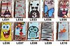 "For Huawei Ascend P8 5.2"" Tiger Tower Rose Wolf Owl Fish Cat Hard Case Cover"