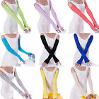 Fashion Women Girl warm Arm Warmer cotton Long Fingerless Gloves Party Gifts New