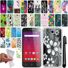 For Alcatel OneTouch Elevate 4037V NEW TPU SILICONE Rubber Soft Case Cover + Pen