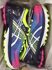 Wmns Asics GEL Kinsei 6 Hot Pink White Flash Yellow T694N 3401 Women's Sz 6-10