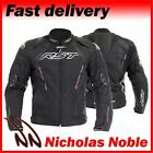 RST CPXC SPORT 1722 Black WATERPROOF ARMOURED SPORTS CUT MOTORCYCLE JACKET