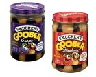 Smucker's Goober Peanut Butter & Jelly Spread Grape / Strawberry  - 2 Jars