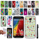 For Motorola Moto G 2014 XT1068 2nd Gen NEW TPU SILICONE Rubber Case Cover + Pen