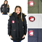 Canada Weather Gear Goose Women's System Down Parka Jacket Coat