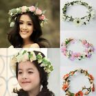 Boho Women's Flowers Wedding Bridal Head Crown Floral Hair Headpiece Garlands
