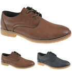 MENS GROUNDWORK CASUAL FORMAL LACE UP BROGUE FASHION OFFICE COMFORT SHOES SIZES