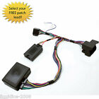 CTSBM007.2 BMW X5 1999 to 2006 STEERING WHEEL STALK CONTROL INTERFACE LEAD