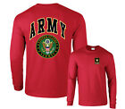 Army USA Official Seal Logo Military Armed Forces Long Sleeve T-Shirt