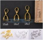 Wholesale Bale Pinch Jewelry Findings Bail Connector Pendant Clasp Hooks