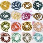 Beauty Freshwater Rice Oval Pearl Loose Beads Craft Charm Women Jewelry Findings