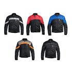 Men's Fulmer Supertrak Jacket Motorcycle Riding Coat Textile/Mesh with CE Armor