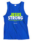 Kerusso Jesus Strong Adult Tank Top
