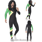 CL737 Men Jamaican Rasta Hero Fancy Dress Costume Bobsleigh Bobsled Team Sports