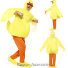 CL753 Unisex Duck Yellow Animal Bodysuit Fancy Dress Up Party Costume