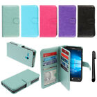 For Alcatel Onetouch Fierce XL 5054 Leather Flip Magnetic Wallet Cover Case +Pen