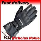 Richa Ice Polar GTX Black Leather and Textile Gore-Tex Waterproof Gloves