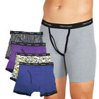 4-Pack: Fruit of the Loom 100% Cotton Men's Boxer Briefs - L & XL