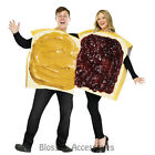 CL766 Peanut Butter And Jelly Couples Fancy Tunic Food Funny Sandwich Costume