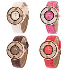 Hot Fashion Women's Men's Rhinestone Beads Analog Quartz Wrist Watch