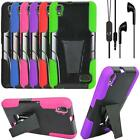 For Huawei Vision 3 LTE Phone Case Cover Stand Earphone Headset Headset w/ Mic