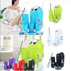 6PC Bathroom Accessory Set Bin Soap Dish Dispenser Tumbler Toothbrush Holder Bin
