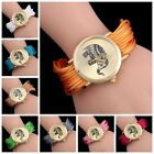 Hot Fashion Bracelet Twining Ribbon Women Round Quartz Watches 11 Colors