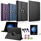 4in1 360 Rotating Leather Stand Case Cover+Film+3.5mm Stylus For iPad Pro 12.9""