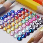 500 to 5000 4mm/5mm Flat Back AB Round Pointed Rivoli Rhinestones Crystal Gem