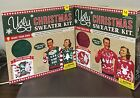 NIB Ugly Christmas Sweater Kit ~Make Your Own~ Various Adult Sizes