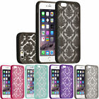 Damask Lace Thin Hard Back Case Cover Skin For Cell Phone Smart Phone - New