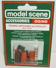 Modelscene Accessories 5062 - Suitcases, Trunks & Trolley - (00) Railway Models