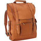 Le Donne Leather Classic Laptop Backpack 3 Colors