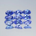 5x3mm Lot 1,2,6,10pcs Oval Cut Calibrated Natural Gem Violet Blue Tanzanite