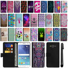 For Samsung Galaxy J7 J700 Magnetic Flip Wallet POUCH Case Phone Cover + Pen
