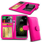 Clip On PU Leather Flip Wallet Book Case Cover For LG G4 Beat