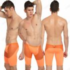 Men's Fitness Home Pants Sexy Sheer Sleep Shorts High Elastic Workout Trousers